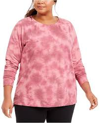 Id Ideology Size Chart Plus Size Tie Dye Sweatshirt Created For Macys