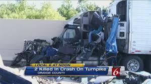 2 dead in crash on Florida Turnpike