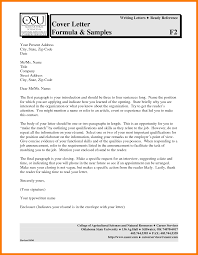 Fabulous Cover Letter Sample Free Download On 8 Job Application