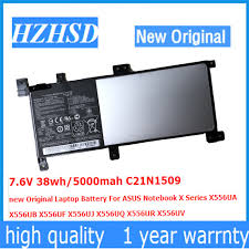 7.6V 38wh/<b>5000mah</b> C21N1509 <b>new Original</b> Laptop Battery For ...