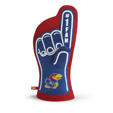 27 95 ncaa college team logo 1 fan finger oven mitts