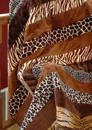 83 best Safari Quilts images on Pinterest   Quilting projects ... & Adult Cuddle Strip Quilt Kit Animal print close up Adamdwight.com