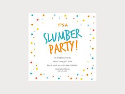 free sleepover invitation templates slumber party invitation templates customize 60 sleepover invitation