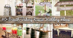 shine on your wedding day with these breath taking rustic wedding ideas