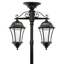 solar powered post lantern white solar lamp post solar deck post cap lights pillar solar lights for outdoors outdoor lamp post heads