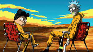 Rick and Morty Breaking Bad 4K ...