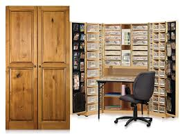 office desk armoire. Home Office Furniture Original Scrapbox Workbox Scrapbooking Inside Craft Armoire Desk N