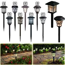 Solar Light Packs Outdoor Solar Led Pathway Lights Walkway Garden Landscape Path Lighting 6 Pack