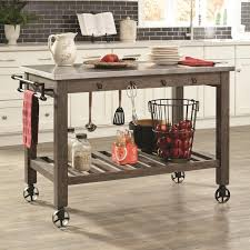 Simple Kitchen Island Cart Practical and Beautiful Kitchen Island
