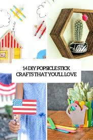 14 diy popsicle stick crafts youll love cover