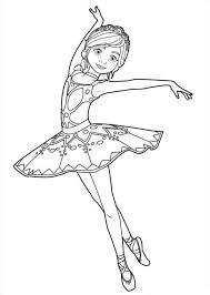 Ballet Kleurplaat