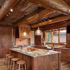 Log Home Kitchen Designs