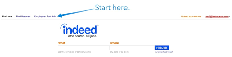 Indeed Job Posting How To Post On Indeed Pricing Video