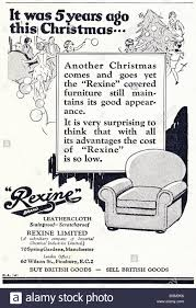 Ici furniture Et La Advertisement For Rexine Leathercloth Furniture Covering In Womens Magazine Circa 1929 Stock Image Grainger Ici Stock Photos Ici Stock Images Page Alamy