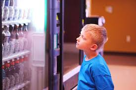 Child In Vending Machine Adorable Kid With Vending Machine ABC News Australian Broadcasting