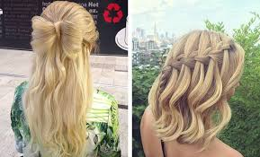 Short Prom Hairstyles 37 Inspiration 24 Half Up Half Down Prom Hairstyles StayGlam