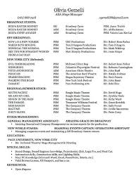 28+ [ Stage Manager Resume Template ] | Stage Manager Resume inside Stage  Management Resume