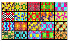 Val de Vries Art Blog: Patchwork Quilt Block Paintings continued. & Patchwork Quilt Block Paintings continued. Adamdwight.com