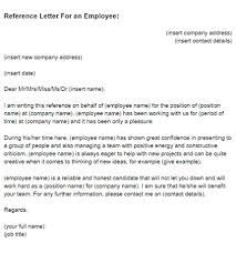 letter template example sample reference letter for employee useful template example job