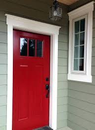 painting exterior doors and trim diffe colors door moulding molding ideas red front paint color