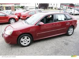 Sport Red Metallic 2006 Chevrolet Malibu Maxx LT Wagon Exterior ...