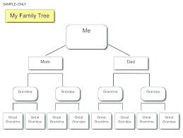 Family Tree Example Template Ancestry Tree Diagram Wiring Diagram Pro