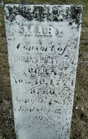 """Mary F """"Polly"""" Duncan Piety (1774-1855) - Find A Grave Memorial"""