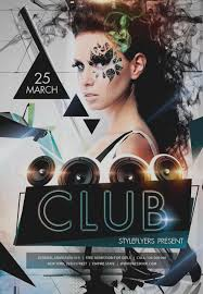 club flyer templates wonderful of club flyer templates free 50 cool flyers party psd