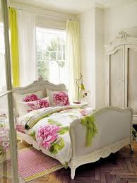 white wood wardrobe armoire shabby chic bedroom. Bedroom : Beautiful Chiic Bedrom With White Comfort Bed Feat Floral Pattern Pillows And Small Pink Striped Rug Also Antique Wood Wardrobe Armoire Shabby Chic A