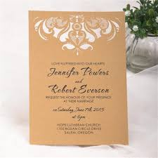 wedding gorgeous chandelier flat laser cut invitations image 1