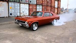 1971 Chevy Nova SS Burnout - YouTube