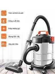 Máy hút bụi công nghiệp, Máy hút bụi gia đình Yili 12L công suất 1200W hút  và thổi(Hút ướt, hút khô))