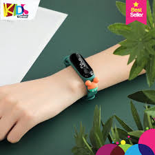 Đồng hồ trẻ em điện tử chống nước màu sắc thời trang phù hợp cho cả nam và  nữ chơi thể thao chức năng xem giờ thông minh - Đồng Hồ Thông