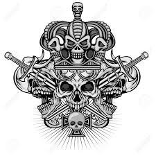 Gothic Skull Design Gothic Sign With Skull Grunge Vintage Design T Shirts