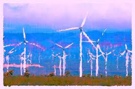 Turbine eoliene Poza gratuite - Public Domain Pictures