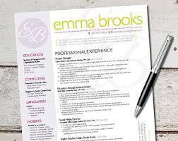 Resume Design Graphic Design Marketing Sales by VivifyCreative