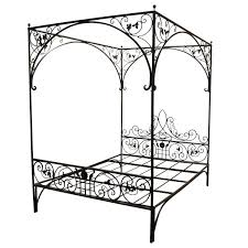 Iron canopy bed queen, iron canopy beds queen size modern beds ...