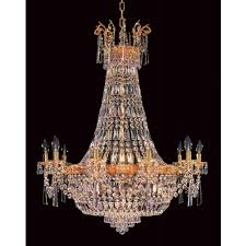 impex berlin lead crystal empire pendant light