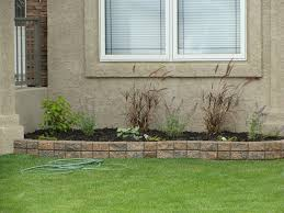small retaining wall small garden
