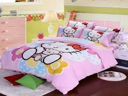 Bedroom: Hello Kitty Bedroom Set Unique Lovely Hello Kitty Bedding Sets  Home Designing - Bedroom