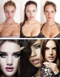 victoria secret angels without makeup and photo once again we should feel good about ourselves