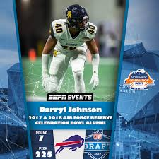 Darryl Johnson Draft Card - Vertical - Celebration Bowl