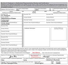 employment dates verification completing section 2 employer review and attestation uscis