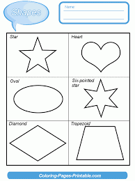 Search through 623,989 free printable colorings at. Shapes Worksheets For Kindergarten Pdf Coloring Pages Printable Com