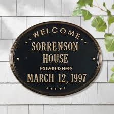 home address plaques. Home Address Plaques Personalized For H