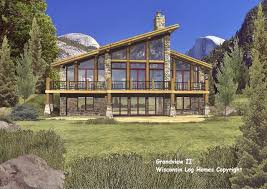Surprising Log Home House Plans Designs 11 Winsome And 23 Large