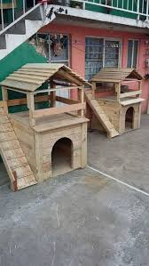 Top Dog Houses With Pallet Wood Projects | Dog houses, Pallet wood and Pet  dogs