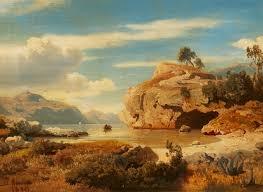 albert flamm an italian landscape auction 1083 paintings 15th 19th c