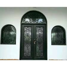 arched double front doors metal glass double entry doors luxury double entry doors arched double entry