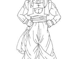 Gogeta Coloring Pages Campzablaceinfo